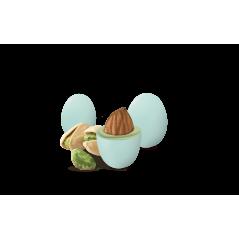 Palloncino Mylar a Forma 52 pollici 106 x 94 cm Cicogna Celeste